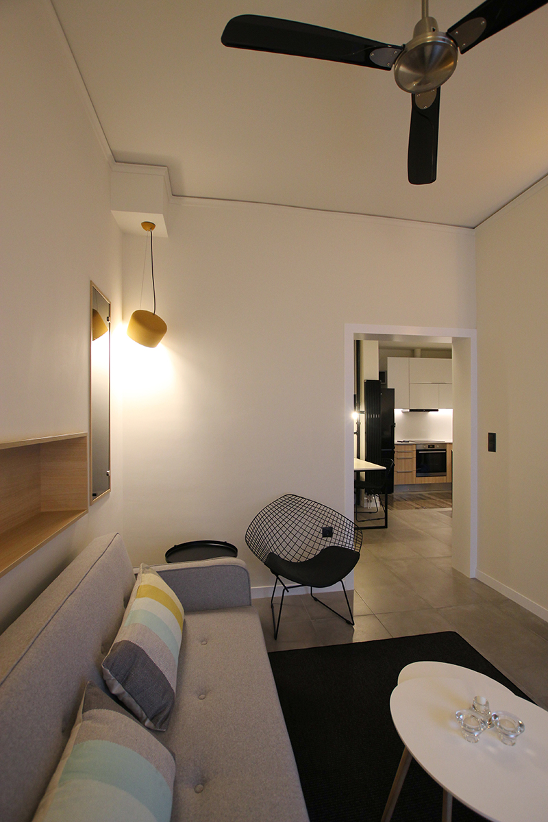 Guest Apartment in Exarchia - Living room
